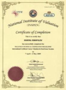 huquq sirketi, konsaltinq, sertifikatlar